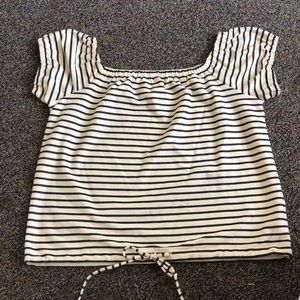 Madewell extra large melody off shoulder blouse.